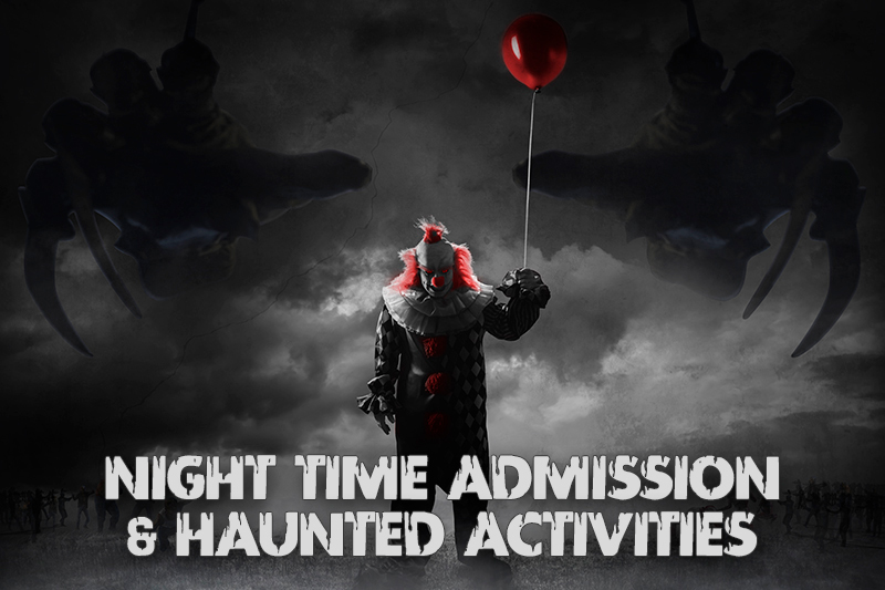Farmer-Mike- Night Time Admission & Haunted Activities